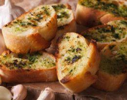 KV1. Garlic Bread
