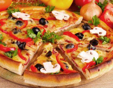 P9. Veggie Pizza