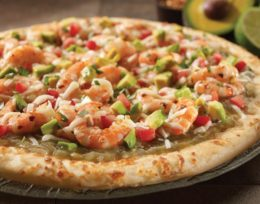 P12. Seafood Pizza