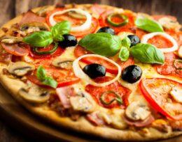 P4. Chorizo Pizza