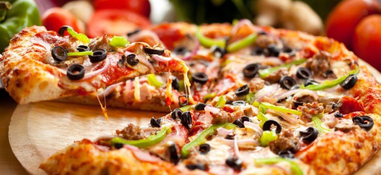 Pizza khuyến mại